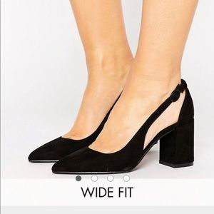Block heel from Asos